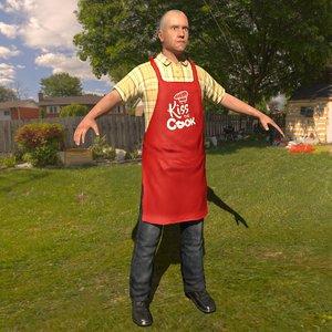home cook 3D model
