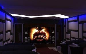 3D home realistic interior