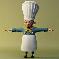 cook 3D model