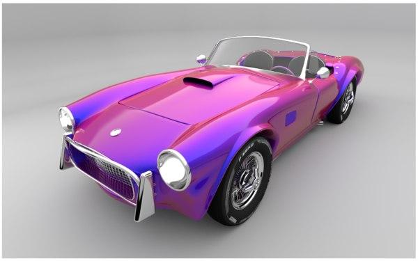ac cobra 269 1963 3D