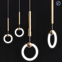 lee broom ring suspension 3D model
