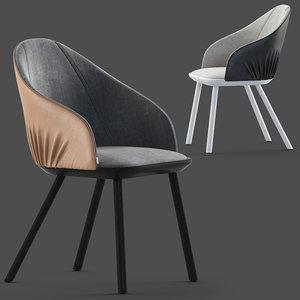 3D model montbel rivoli chair