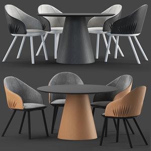 montbel rivoli chair cono 3D model