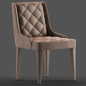 daytona hanna chair table 3D model