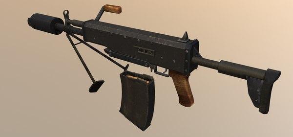 3D rifle 6p62