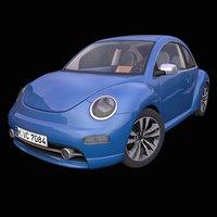 generic retro german hatchback model