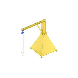 - industrial lift 3D model