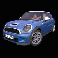 generic british hatchback interior car 3D