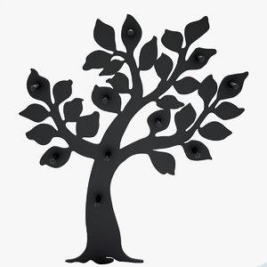 3D hanger tree model