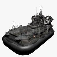 3D craft hovercraft hover
