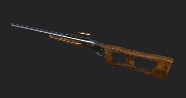 3D custom gun