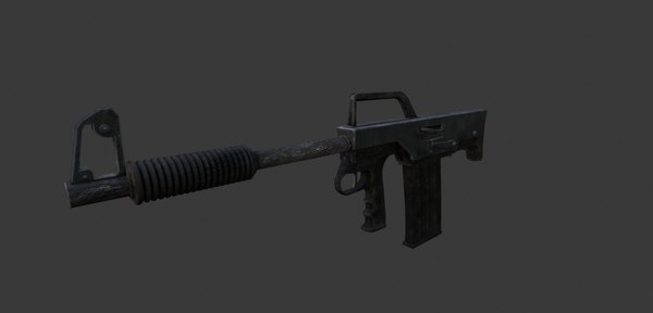 ks 23k russian bullpup shotgun 3d model turbosquid 1453306 ks23k russian bullpup shotgun