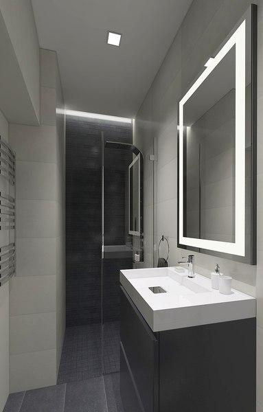 shower tiles model