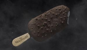 3D ice cream ice-cream