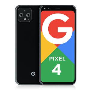 3D google pixel 4 black