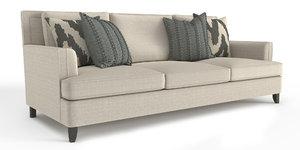3D sofa bernhardt addison