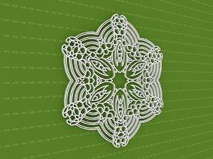 mandala cnc 3D