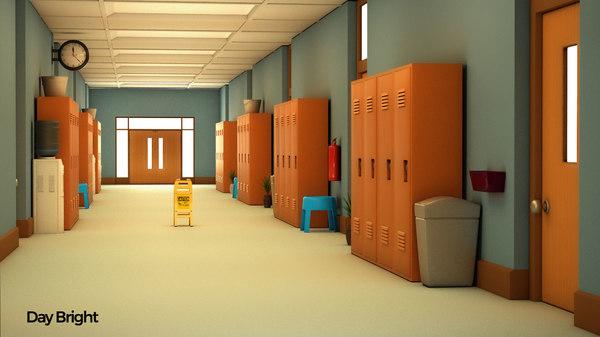 corridor school model