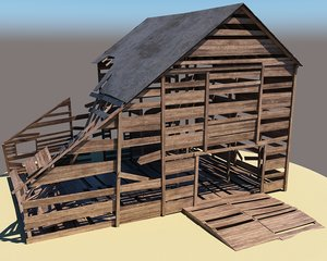 barn farm model