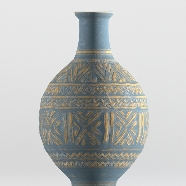old persian pot 3D