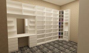 dressing room model