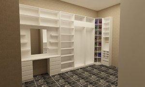 dressing room 1 3D