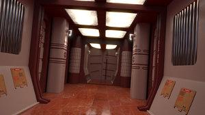 corridor wrath khan 3D