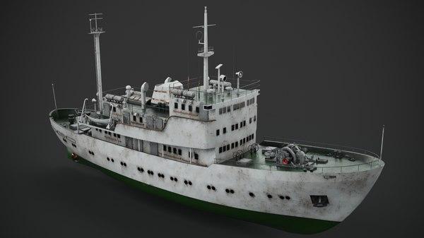 3D old vessel