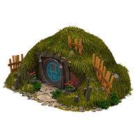 3D hobbit house
