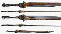 Sci Fi Melee Weapon - Long Sword