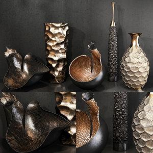3D model decorative set 52