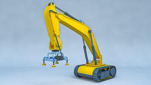 robotic rover 3D model