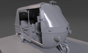 auto vehicle 3D