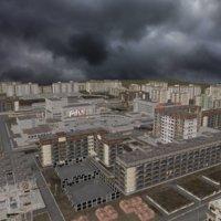 3D pripyat city ghost model