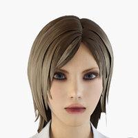 character people nurse 3D model
