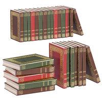 L3DV02G03 - vintage book collection set