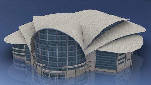 hong kong convention exhibition model