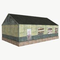 house barn 3D model