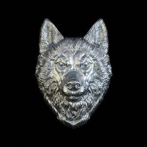 husky head 3D model