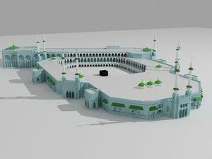 mosque building 3D