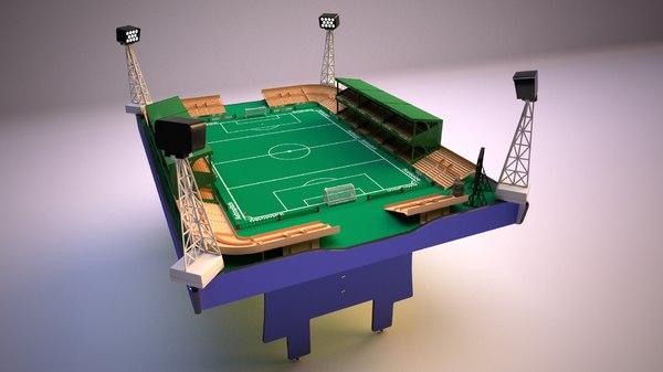 subbuteo table soccer football 3D