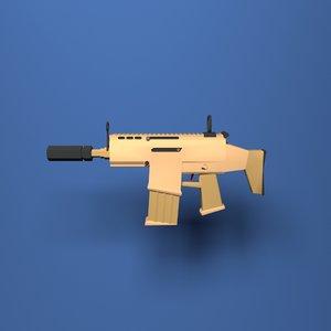 weapon scar 3D