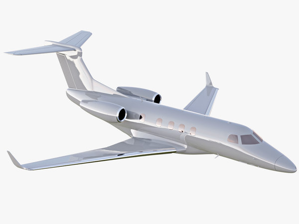 embraer phenom 300 private jet 3D model
