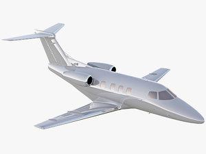 3D embraer phenom 100 private jet