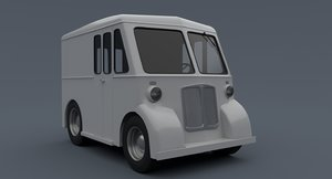 marmon herrington delivery 3D model
