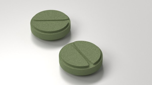 medicine pill 3 3D model