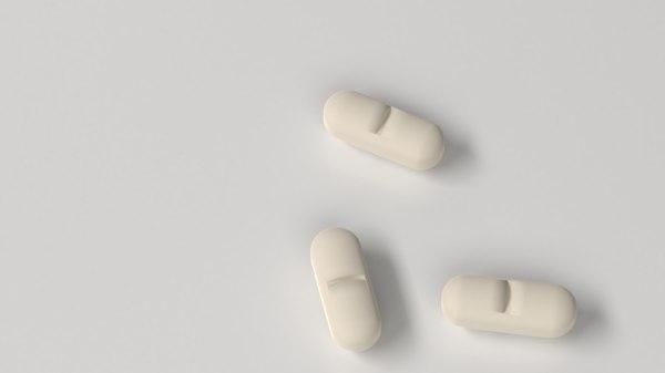 3D medicine pill 7 model