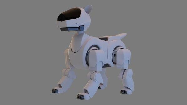 3D model cyber dog