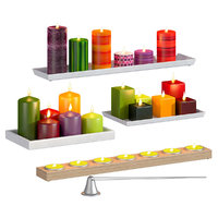 3D model candles architectural candlesticks