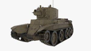 bt-7a bt-7 3D model